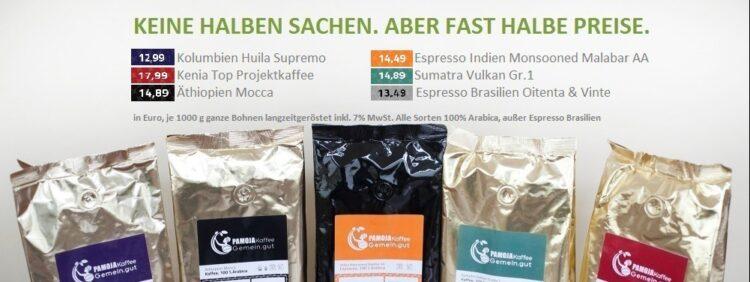 Premium Kaffee günstig